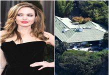 Angelina Jolie Rented Mansion