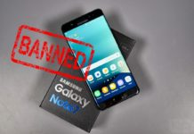 US Bans Samsung Galaxy Note 7