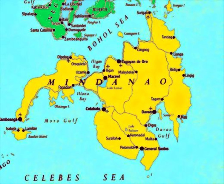 Map Of Mindanao Philippine News Feed