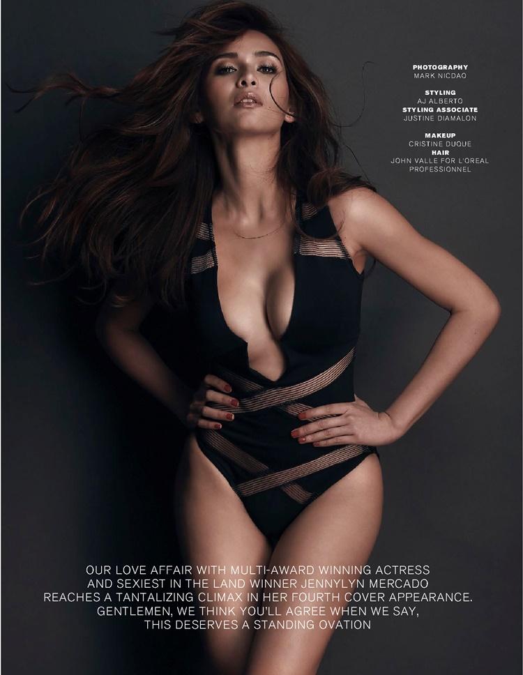 Jennylyn Mercado boobs show