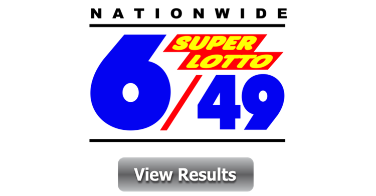 6/49 Lotto Result - Official 6/49 Super Lotto Result